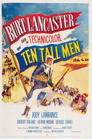 Ten Tall Men - Movie Poster (thumbnail)