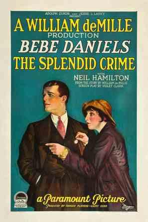 The Splendid Crime - Movie Poster (thumbnail)