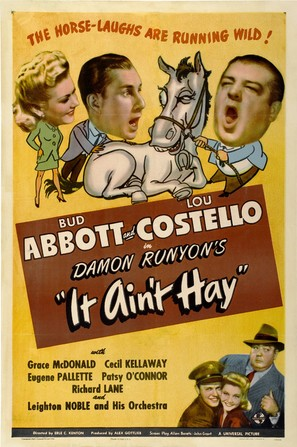 It Ain't Hay - Movie Poster (thumbnail)