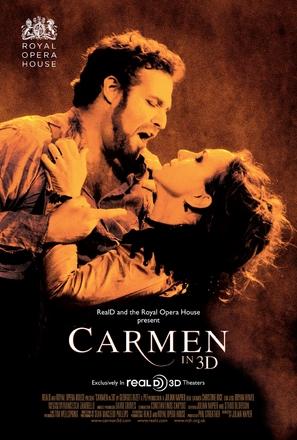 Carmen 3D - Movie Poster (thumbnail)