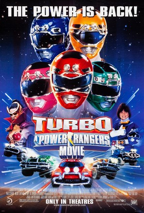 Turbo: A Power Rangers Movie - Movie Poster (thumbnail)
