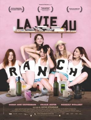 La vie au ranch - French Movie Poster (thumbnail)