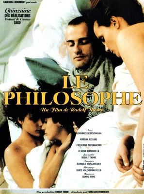 Der Philosoph - French Movie Poster (thumbnail)
