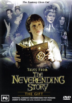 """Tales from the Neverending Story"" - Australian DVD movie cover (thumbnail)"