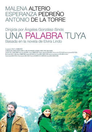 Palabra tuya, Una - Spanish poster (thumbnail)