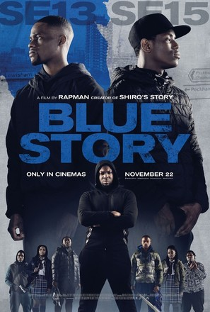 Blue Story - British Movie Poster (thumbnail)