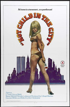 Hot Child in the City - Movie Poster (thumbnail)