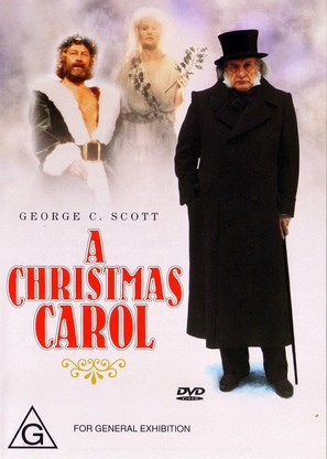 A Christmas Carol - Australian DVD movie cover (thumbnail)