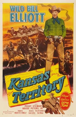 Kansas Territory - Movie Poster (thumbnail)