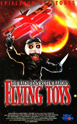 Revenge of the Red Baron - German Movie Poster (thumbnail)