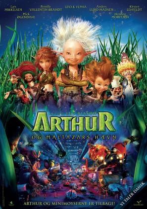 Arthur et la vengeance de Maltazard - Danish Movie Poster (thumbnail)