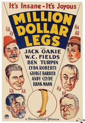 Million Dollar Legs - Movie Poster (thumbnail)
