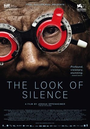 The Look of Silence - Danish Movie Poster (thumbnail)