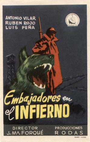 Embajadores en el infierno - Spanish Movie Poster (thumbnail)