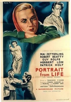 Portrait from Life - British Movie Poster (thumbnail)