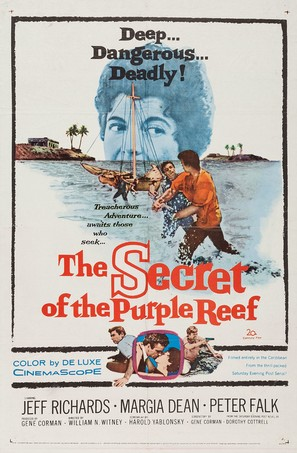The Secret of the Purple Reef - Movie Poster (thumbnail)