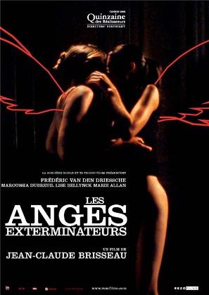 Les anges exterminateurs - French Movie Poster (thumbnail)