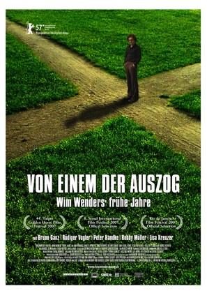 Von einem der auszog - Wim Wenders' frühe Jahre - German poster (thumbnail)