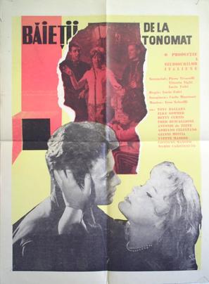 Ragazzi del Juke-Box - Romanian Movie Poster (thumbnail)