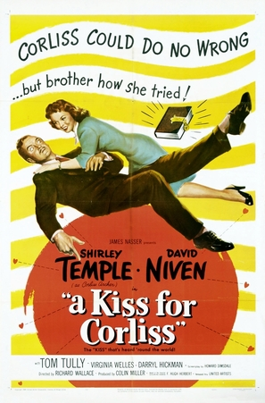 A Kiss for Corliss - Movie Poster (thumbnail)