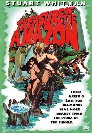 The Treasure of the Amazon - Mexican DVD cover (thumbnail)