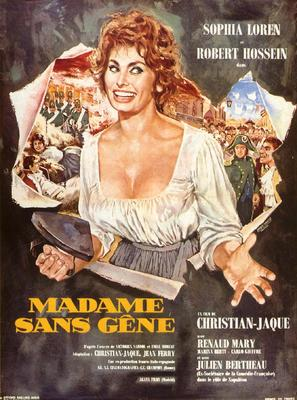 Madame Sans-Gêne - French Movie Poster (thumbnail)