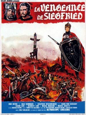 Die Nibelungen, Teil 2 - Kriemhilds Rache - French Movie Poster (thumbnail)