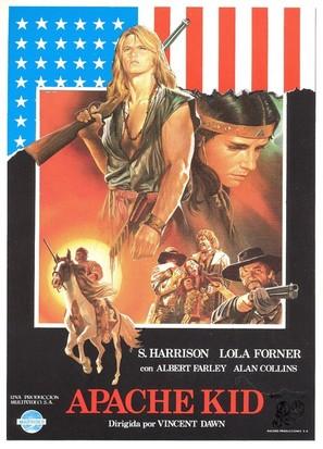Bianco Apache - Spanish Movie Poster (thumbnail)