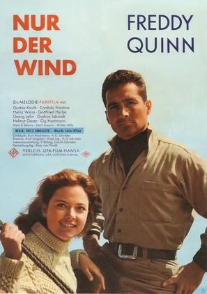 Nur der Wind - German Movie Poster (thumbnail)