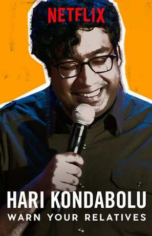 Hari Kondabolu: Warn Your Relatives - Video on demand movie cover (thumbnail)