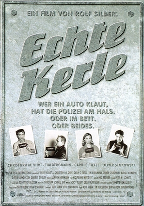 Echte Kerle - German Movie Poster (thumbnail)