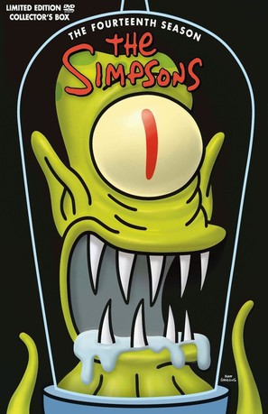 """The Simpsons"" - DVD movie cover (thumbnail)"