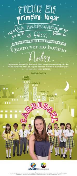 """Carrossel"" - Brazilian Movie Poster (thumbnail)"