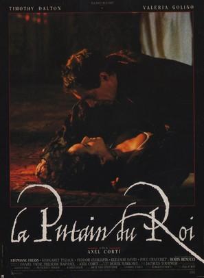 La putain du roi - French Movie Poster (thumbnail)