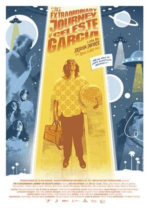 El viaje extraordinario de Celeste García - Australian Movie Poster (thumbnail)
