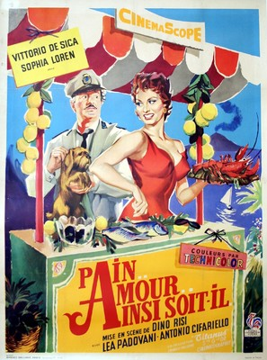 Pane, amore e... - French Movie Poster (thumbnail)