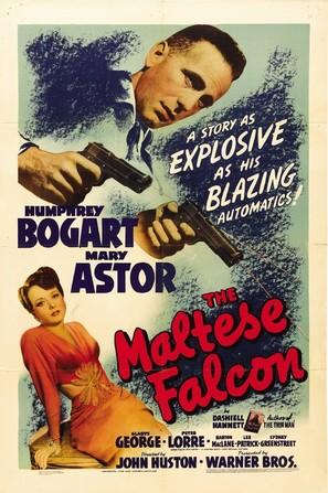 The Maltese Falcon - Movie Poster (thumbnail)