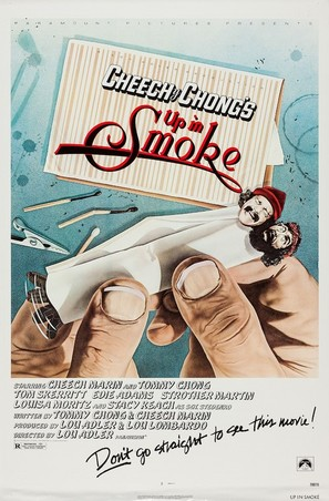 Up in Smoke - Movie Poster (thumbnail)