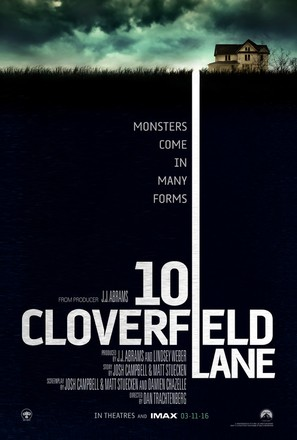 10 Cloverfield Lane - Movie Poster (thumbnail)
