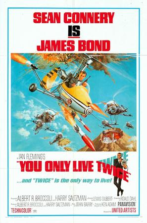 You Only Live Twice - Movie Poster (thumbnail)