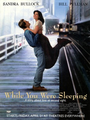 While You Were Sleeping - Theatrical movie poster (thumbnail)