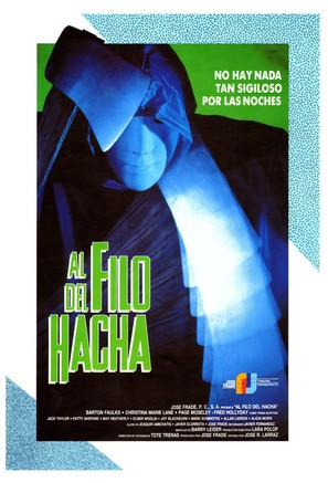Al filo del hacha - Spanish Movie Poster (thumbnail)