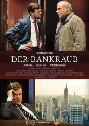 Der Bankraub - German Movie Poster (thumbnail)
