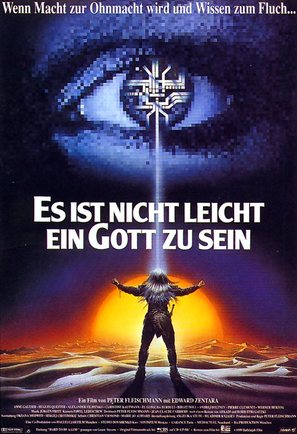Es ist nicht leicht ein Gott zu sein - German Movie Poster (thumbnail)