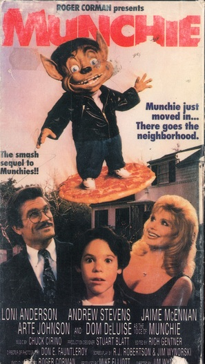 Munchie - VHS movie cover (thumbnail)