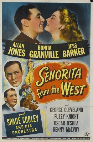 Senorita from the West - Movie Poster (thumbnail)
