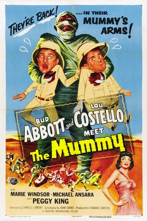 Abbott and Costello Meet the Mummy - Movie Poster (thumbnail)