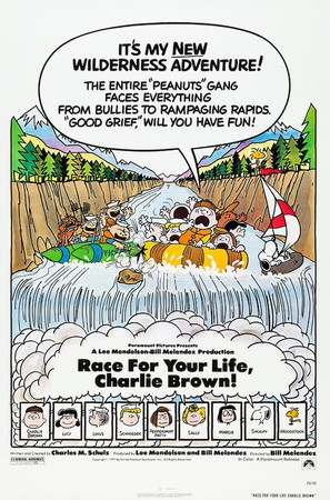 Race for Your Life, Charlie Brown - Movie Poster (thumbnail)