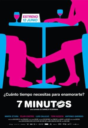 Siete minutos - Spanish Movie Poster (thumbnail)