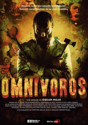 Omnivores - Spanish Movie Poster (thumbnail)